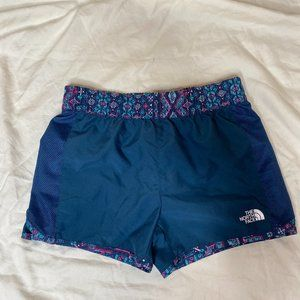 The North Face Navy with printed waist sz 10-12